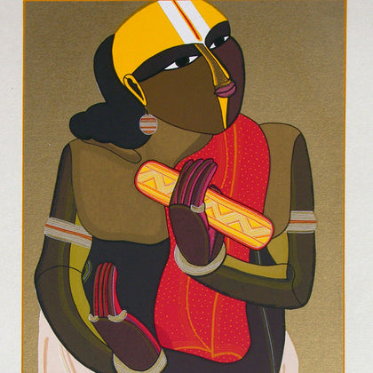 Telangana Pandit - I,[product_collection],Archer Art Gallery,Thota Vaikuntam - Artisera