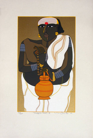 Telangana Pandit - II,[product_collection],Archer Art Gallery,Thota Vaikuntam - Artisera