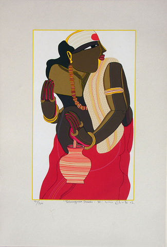 Telangana Pandit - IV,[product_collection],Archer Art Gallery,Thota Vaikuntam - Artisera
