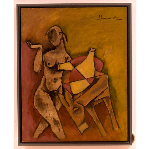 88 Husains in Oils,[product_collection],Vadehra Art Gallery Bookstore,M.F. Husain - Artisera