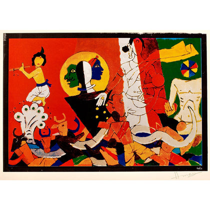 Vedic,[product_collection],Vadehra Art Gallery Bookstore,M.F. Husain - Artisera