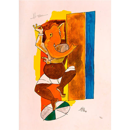 Untitled,[product_collection],Vadehra Art Gallery Bookstore,M.F. Husain - Artisera