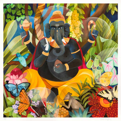Ganesha,[product_collection],Vadehra Art Gallery Bookstore,Senaka Senanayake - Artisera