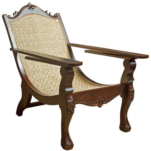 Easy Chair in Rose Wood,Crafters, - Artisera