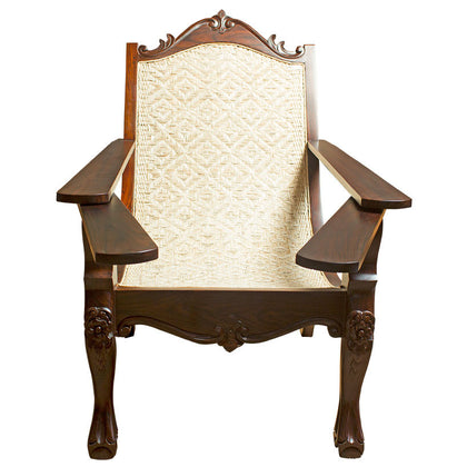 Easy Chair in Rose Wood,[product_collection],Crafters, - Artisera