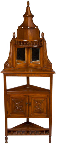 Corner Cabinet with Mirror,The Great Eastern Home, - Artisera