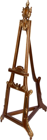 Wooden Gilded Easel,[product_collection],The Great Eastern Home, - Artisera
