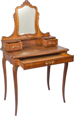 Petineuse (Dressing Table) With Mirror,[product_collection],The Great Eastern Home, - Artisera