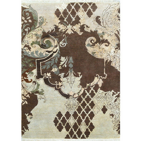 Baroque Garden Collection - Baroque Maze,[product_collection],Cocoon Fine Rugs, - Artisera