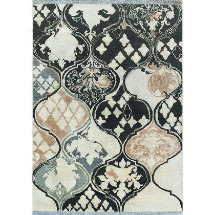 Baroque Garden Collection - Vintage Broken Damask,[product_collection],Cocoon Fine Rugs, - Artisera