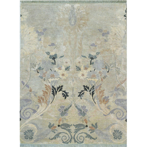 Baroque Garden Collection - Floral Tapestry,[product_collection],Cocoon Fine Rugs, - Artisera