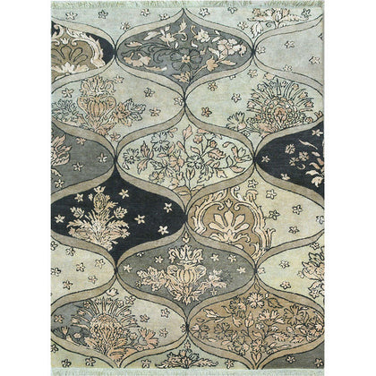 Baroque Garden Collection - Broken Damask,[product_collection],Cocoon Fine Rugs, - Artisera