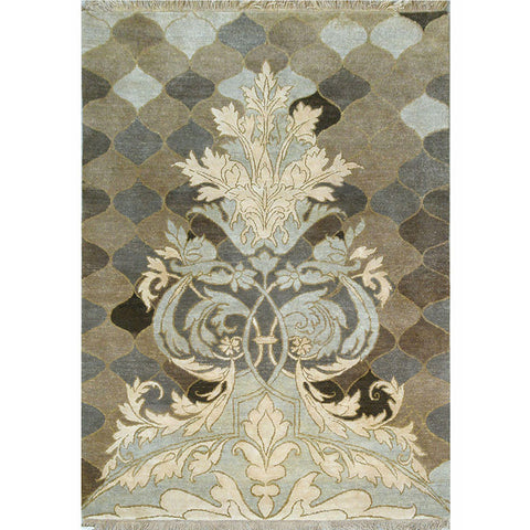 Baroque Garden Collection - Floral Trail,[product_collection],Cocoon Fine Rugs, - Artisera