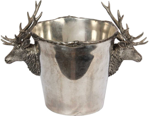 Ice Bucket With Deer Heads,[product_collection],The Great Eastern Home, - Artisera