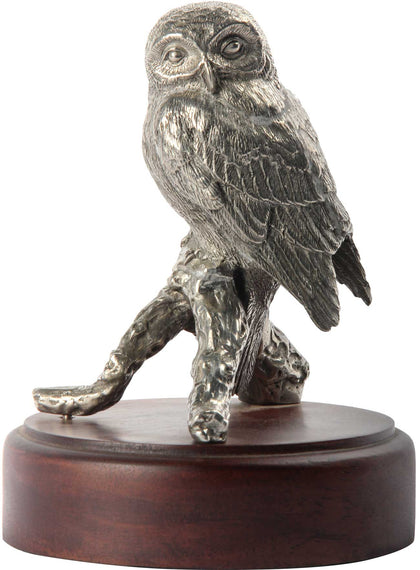 Seated Owl on Base,[product_collection],The Great Eastern Home, - Artisera