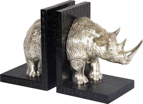 Rhinoceros Bookends,The Great Eastern Home, - Artisera