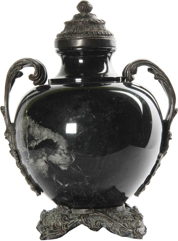 Black Vase with Handles,The Great Eastern Home, - Artisera
