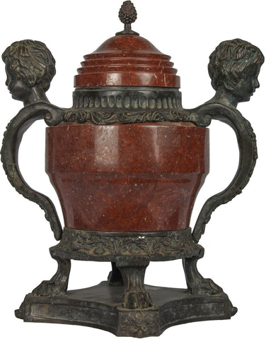 Vase with Cherub Handles,The Great Eastern Home, - Artisera