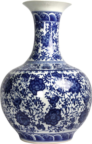 Chinese Porcelain Vase,The Great Eastern Home, - Artisera