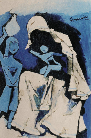 Mother Teresa - II,[product_collection],Vadehra Art Gallery Bookstore,M.F. Husain - Artisera