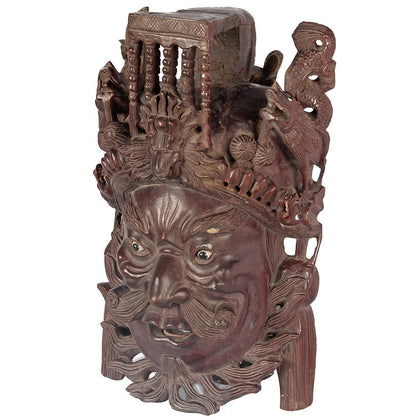Indonesian Festival Mask,[product_collection],Essajees, - Artisera