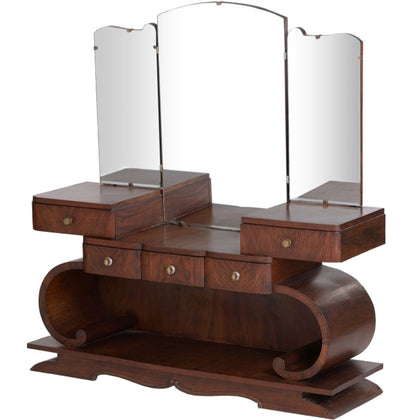 Italian Art Deco Dressing Table,[product_collection],The Great Eastern Home, - Artisera