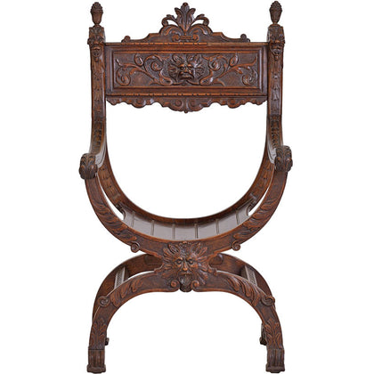 Italian Chair in Walnut Wood,[product_collection],The Great Eastern Home, - Artisera
