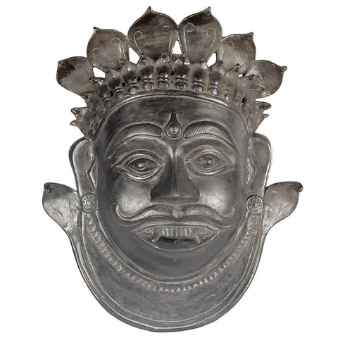 Shiva Mask,[product_collection],Essajees, - Artisera