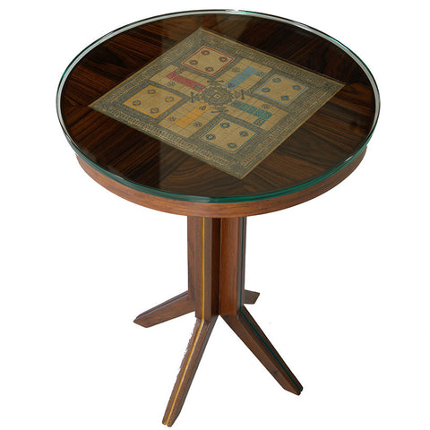 Ludo Table,Square Barrel, - Artisera