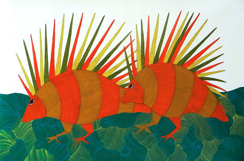 Gond - Untitled 27,Must Art,Bhajju Shyam - Artisera