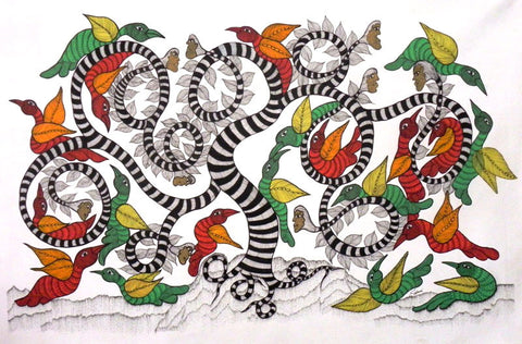 Gond - Untitled 33,Must Art,Japani Shyam - Artisera