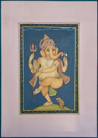 Ganesha - Miniature Painting,La Boutique, - Artisera