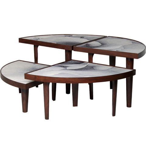 Rose Bloom 016 - Coffee Table,PortsideCafé, - Artisera