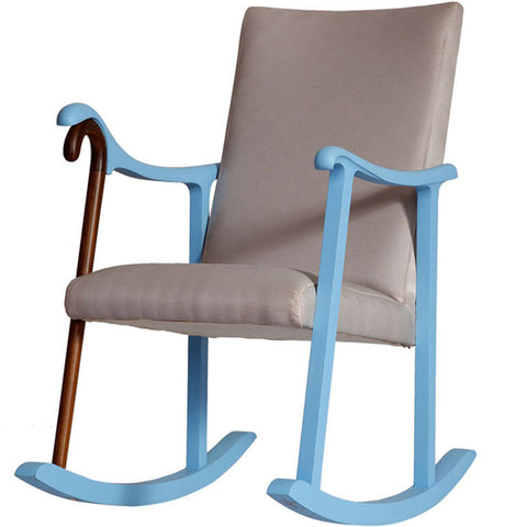 Rocking Chair,[product_collection],Square Barrel, - Artisera