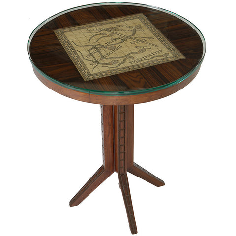 Snakes and Ladders Table,Square Barrel, - Artisera