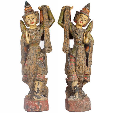 Burmese Dancers,[product_collection],Essajees, - Artisera