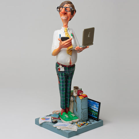 Computer Expert,[product_collection],Designer Studio Collectibles,Guillermo Forchino - Artisera
