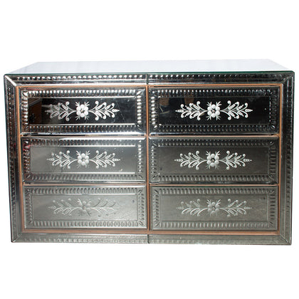 Venetian Mirror Glass Cabinet,[product_collection],Essajees, - Artisera