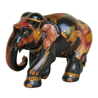 Painted Elephant 1,[product_collection],La Boutique, - Artisera