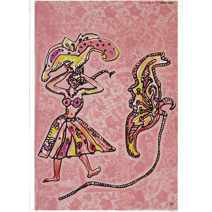 Flower Dancer,[product_collection],Archer Art Gallery,Jogen Chowdhury - Artisera