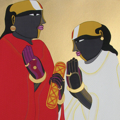 Panditas,[product_collection],Archer Art Gallery,Thota Vaikuntam - Artisera