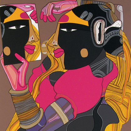 Untitled TV 08,[product_collection],Archer Art Gallery,Thota Vaikuntam - Artisera