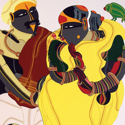 Untitled TV 04,[product_collection],Archer Art Gallery,Thota Vaikuntam - Artisera