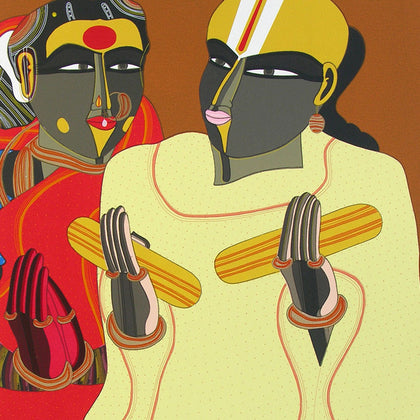 Untitled TV 09,[product_collection],Archer Art Gallery,Thota Vaikuntam - Artisera