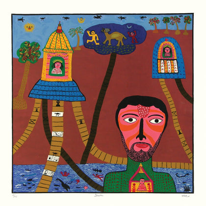 Bhakta,[product_collection],Archer Art Gallery,Madhvi Parekh - Artisera