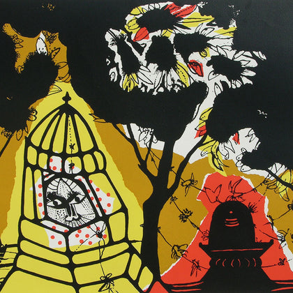 Banaras in Yellow,[product_collection],Archer Art Gallery,Manu Parekh - Artisera