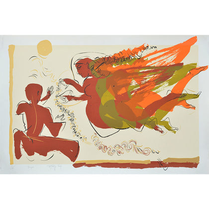 Triangel,Archer Art Gallery,Jatin Das - Artisera