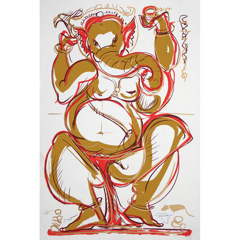 Ganapati,[product_collection],Archer Art Gallery,Jatin Das - Artisera