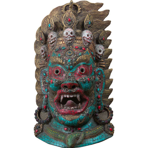 Tribal Mask,Rani Arts & Teak, - Artisera