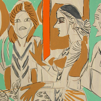 Untitled,Archer Art Gallery,K.G. Subramanyan - Artisera